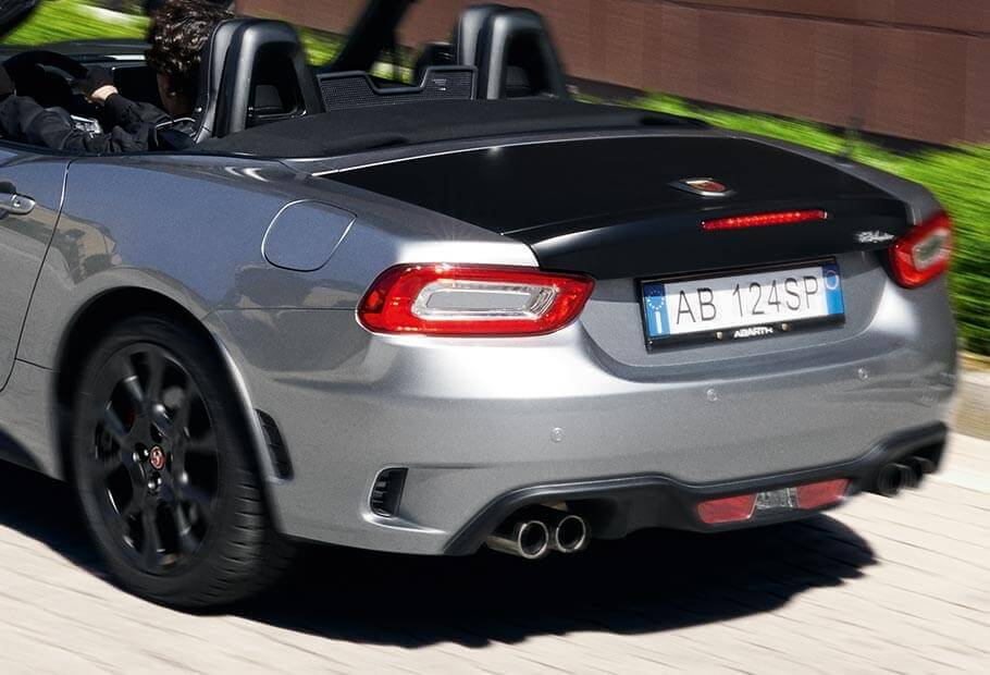 Abarth Record Monza Exhaust