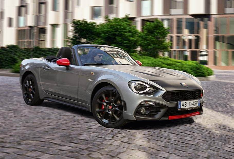 abarth cars uk 124 spider sport roadster. Black Bedroom Furniture Sets. Home Design Ideas