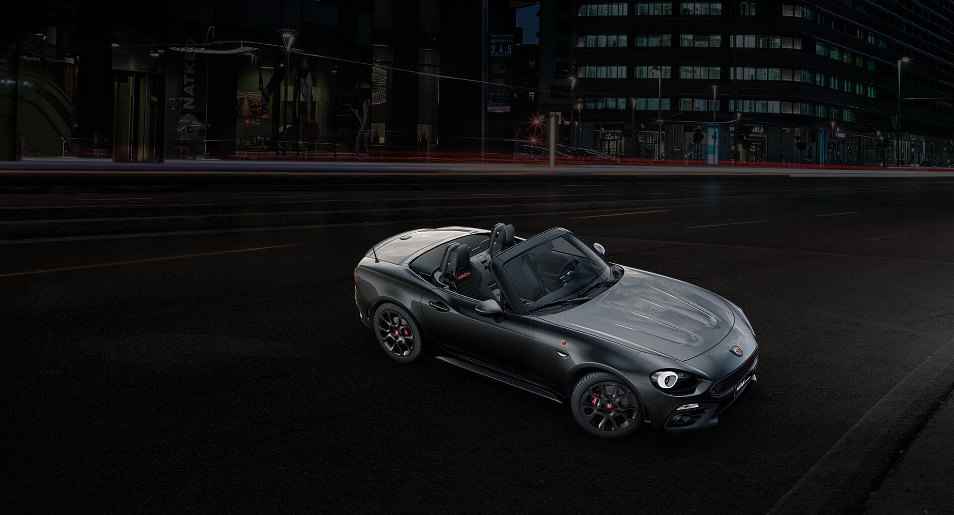 new abarth 124 spider scorpione natural performance abarth. Black Bedroom Furniture Sets. Home Design Ideas