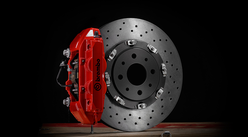 Abarth Brembo Braking System Kit