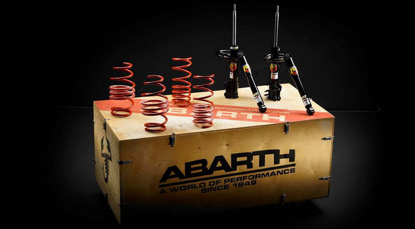Abarth Koni Suspension Kit