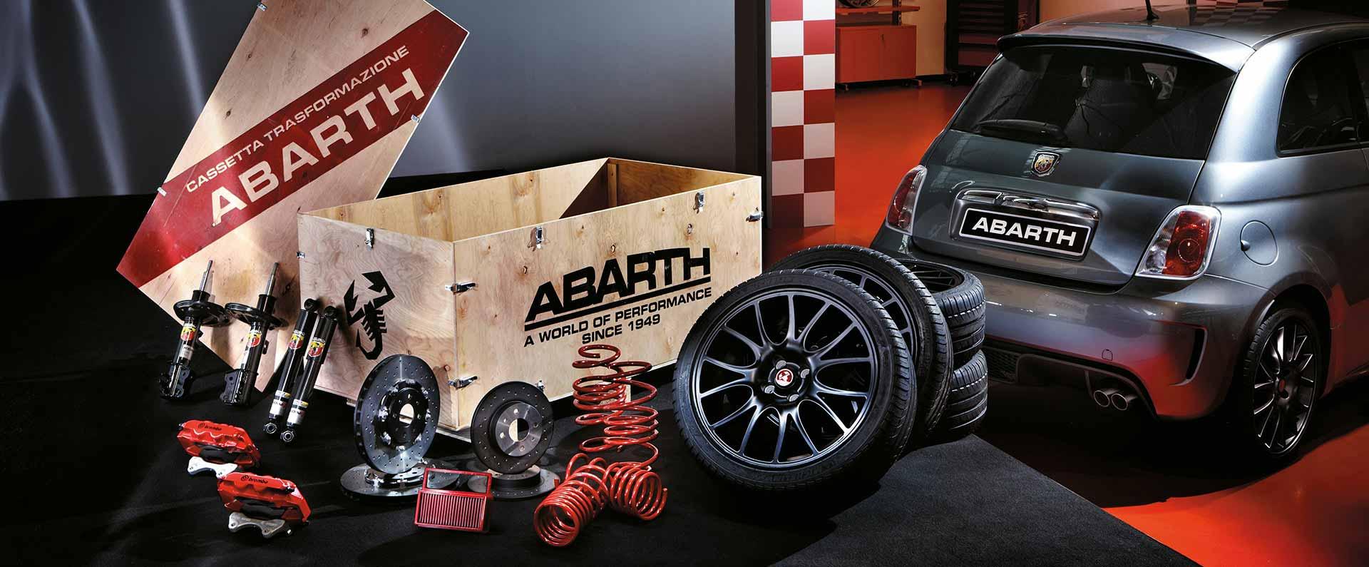 Abarth Cars UK | Esseesse Rim Car Tuning Kit