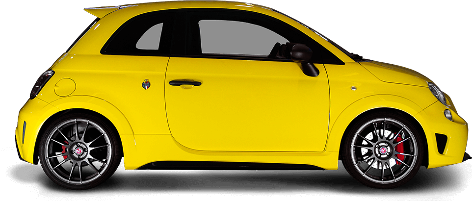 Abarth 695 Record – a Performance Supermini in Yellow