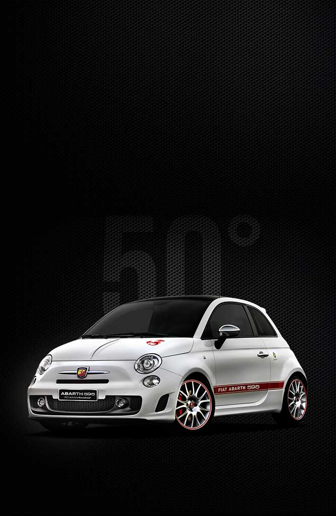 Abarth 595 50th Anniversary Model – a Unique Small Supermini