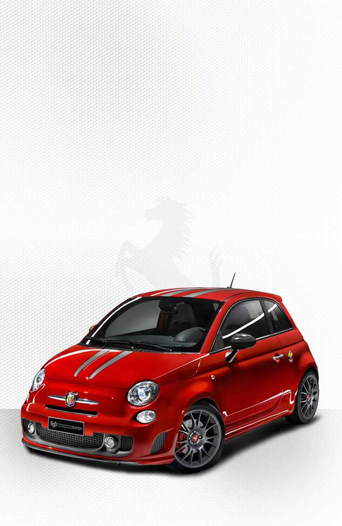 Abarth 695 Tributo Ferrari Sports Car