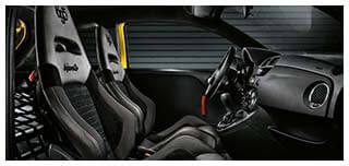 Abarth 695 Record – Racing Seats and Interior